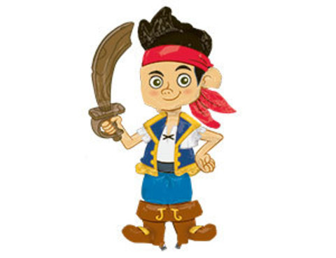 Ходячий шар Джейк пират
