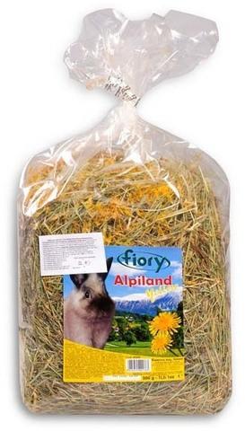 FIORY сено Альпийское Alpiland Yellow с одуванчиком 500 г