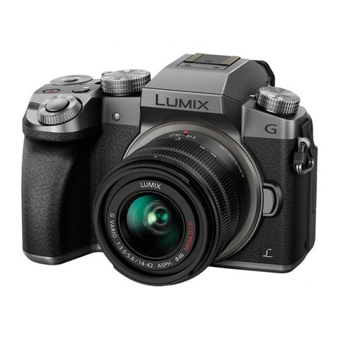 Panasonic Lumix DMC-G7 Kit 14-42 Silver Уценка