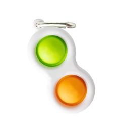 Пупырка вечная антистресс simple dimple (симпл димпл) брелок двойной 1 шт