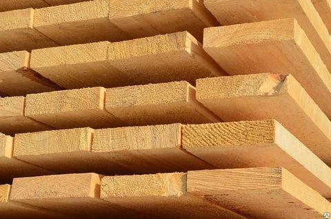 Доска обрезная 40х200х6000 мм, сорт 1, свежий лес, ГОСТ