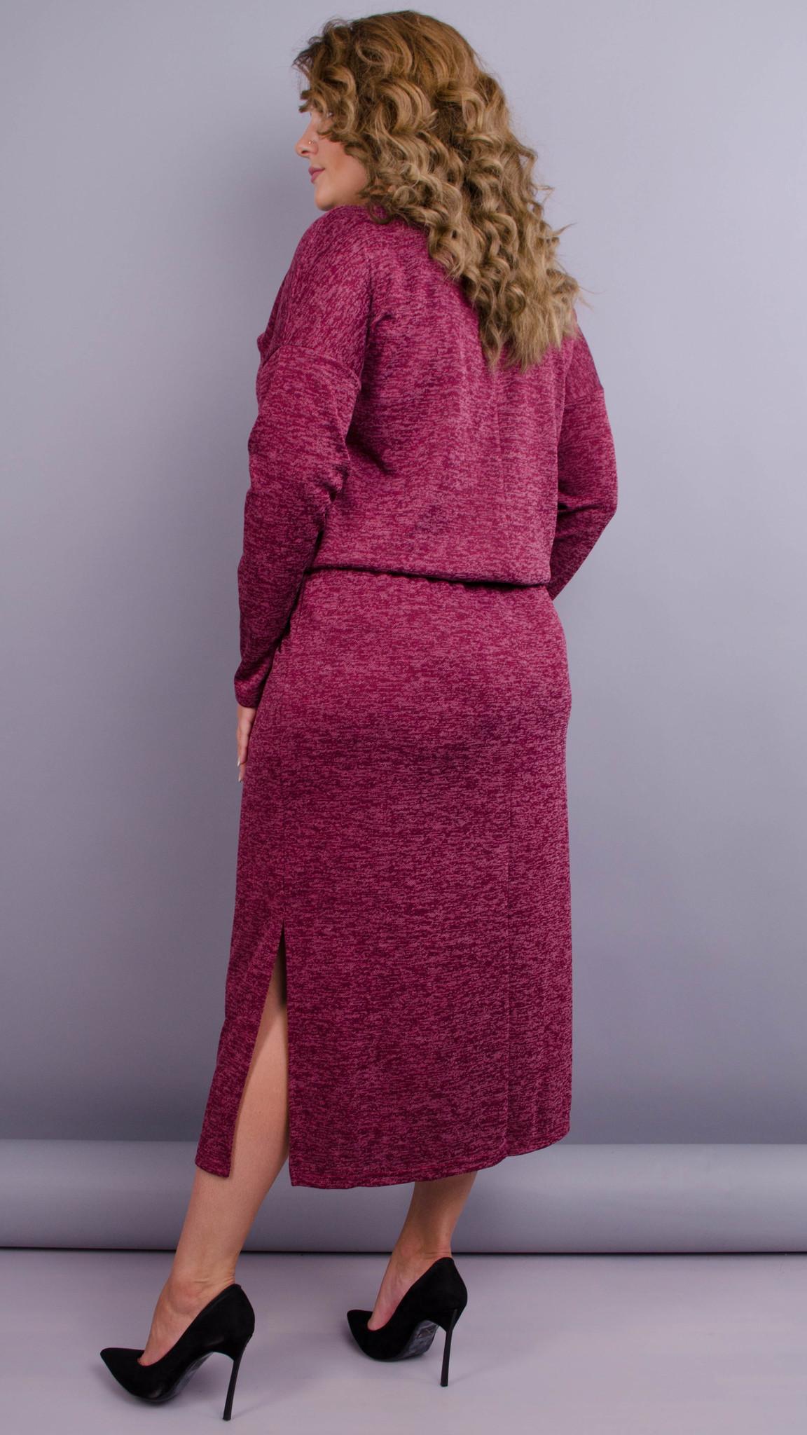 Платье Леся (бордо)