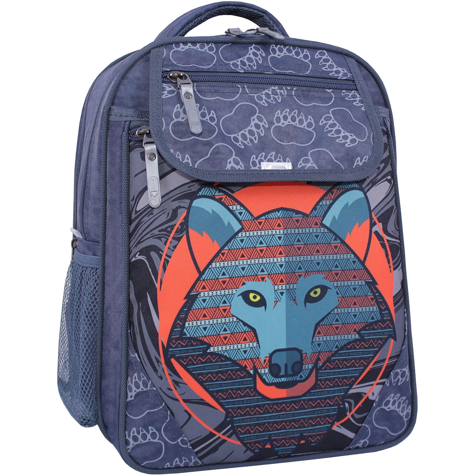Рюкзак школьный Bagland Отличник 20 л. 321 серый 509 (0058070) фото 1