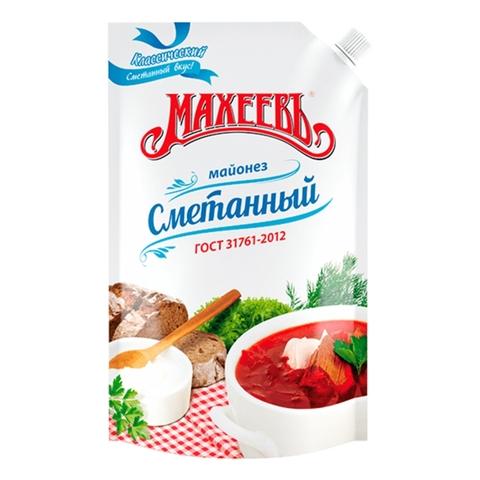 Майонез МАХЕЕВЪ Сметанный 770 г ДП РОССИЯ