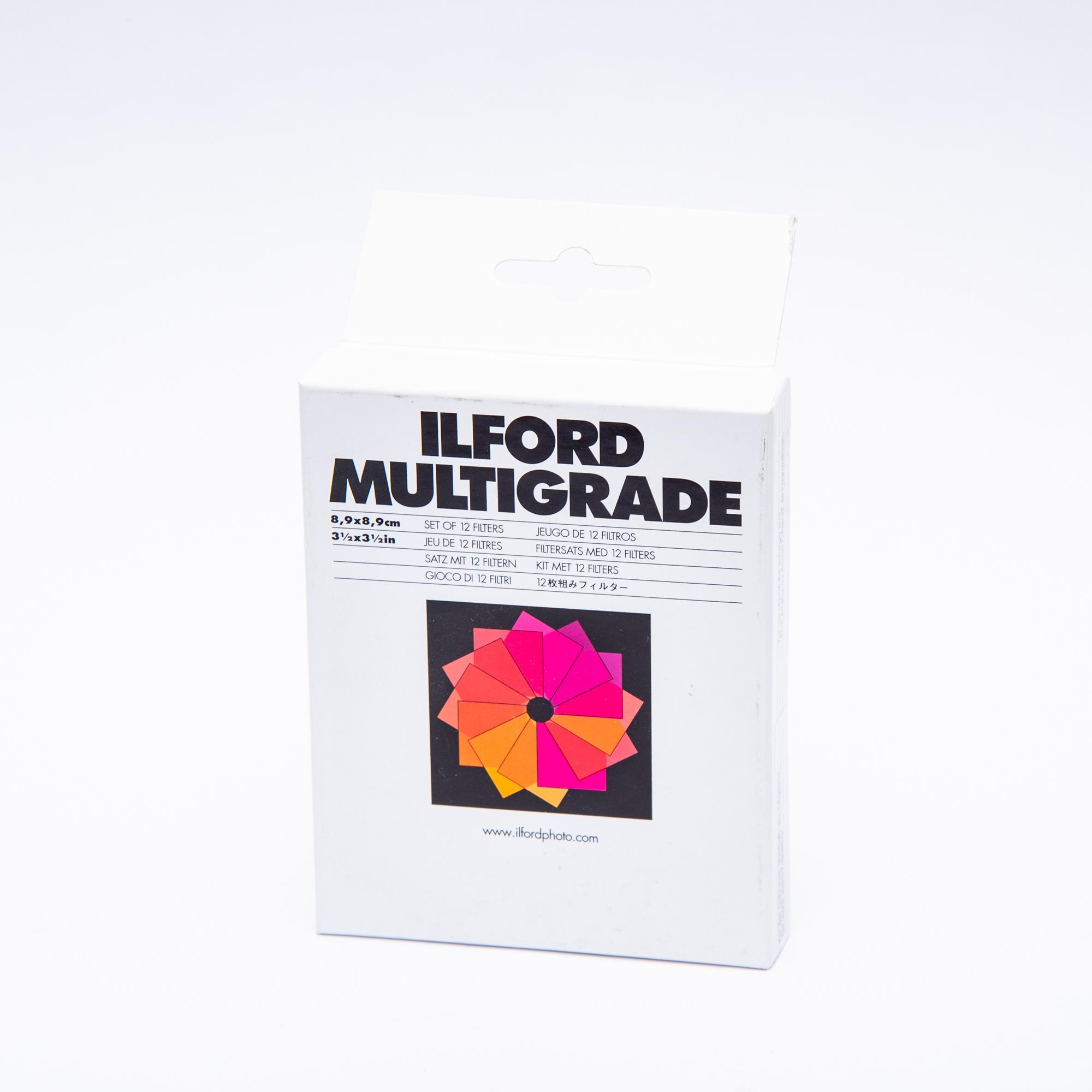 Фильтры мультиконтрастные для фотоувеличителя ILFORD MULTIGRADE