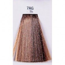 Matrix Color Sync: Ash Gold 7AG блондин Пепельно-золотистый, крем-краска без аммиака, 90мл