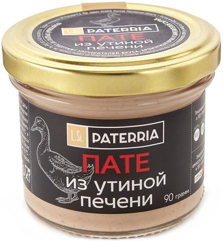 Пате из утиной печени с портвейном, 90 гр.