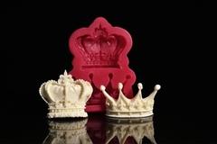 Силиконовый молд 'Короны король/королева