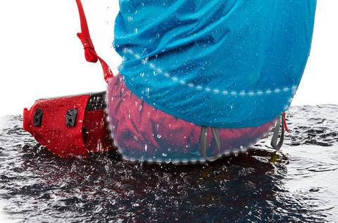 Картинка рюкзак туристический Thule Versant 70 Горчичный - 4