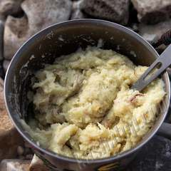 Картофель с грибами и луком 'Гала-Гала' готовое блюдо