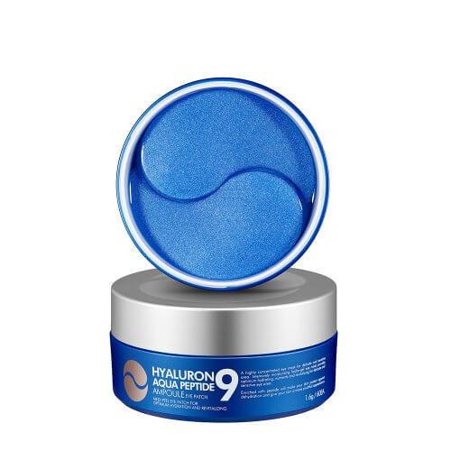 Патчи MEDI-PEEL Hyaluron Aqua Peptide 9 Ampoule Eye Patch синие