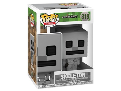 Фигурка Funko POP! Vinyl: Games: Minecraft: Skeleton