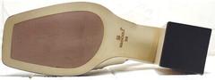 Летняя обувь женские босоножки на каблуке Brocoli H150-9137-2234 Cream