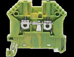 SSL 2,5/2A винтовая заземляющая клемма стандартного жёлто-зелёного цвета