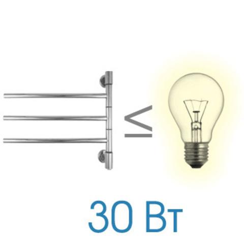 Полотенцесушитель электрический I G3 Energy  440x550