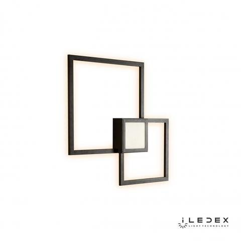 Настенный светильник iLedex Galaxy X046224 24W 3000K BK