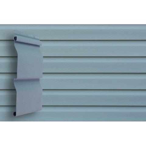 Сайдинг Виниловый Grand Line Slim D4 Голубой