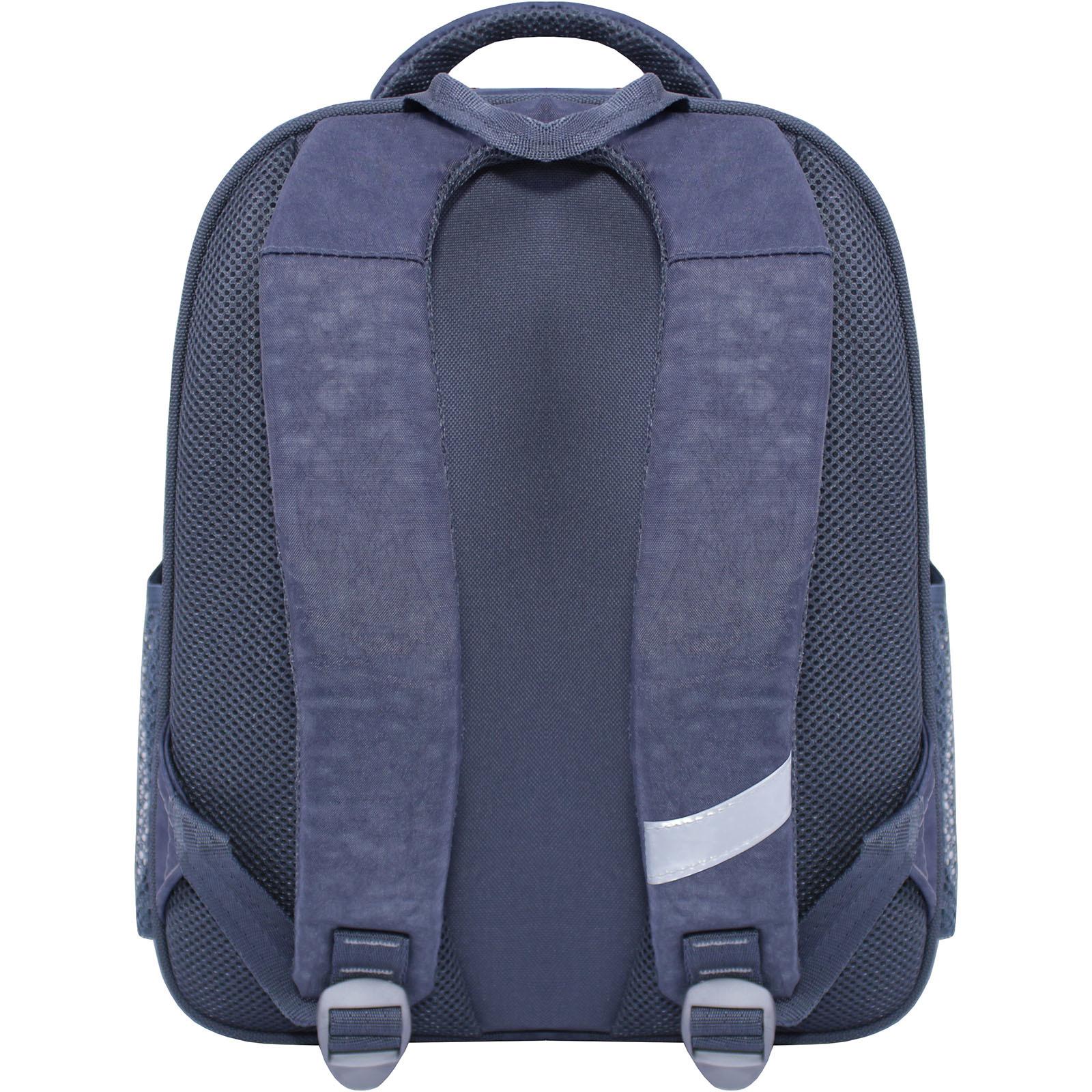 Рюкзак школьный Bagland Отличник 20 л. 321 серый 509 (0058070) фото 3