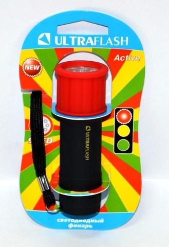 Фонарь Ultraflash LED15001-A 3XR03 светофор