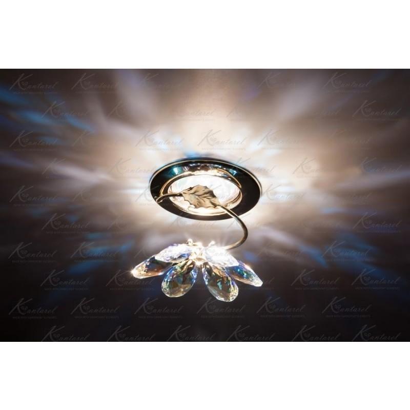 Встраиваемый светильник Kantarel BLOSSOM CD 015.2.2/1 crystal AB
