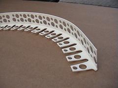 Угол арочный перфорированный из ПВХ под штукатурку (3м)
