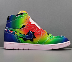 J Balvin X Air Jordan 1 Retro OG High 'Colores Y Vibras'