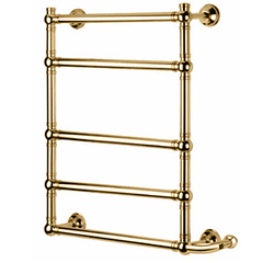 Полотенцесушитель электрический золото левое подключение Margaroli Armonia 9-514 95145505EGBL фото