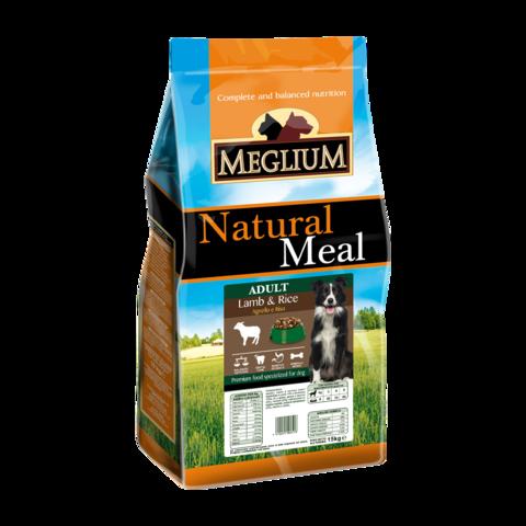 Meglium Sensible Сухой корм для собак с чувствительным пищеварением с ягненком и рисом