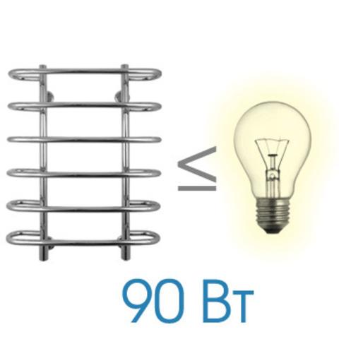 Полотенцесушитель электрический Energy NOVA 800x600