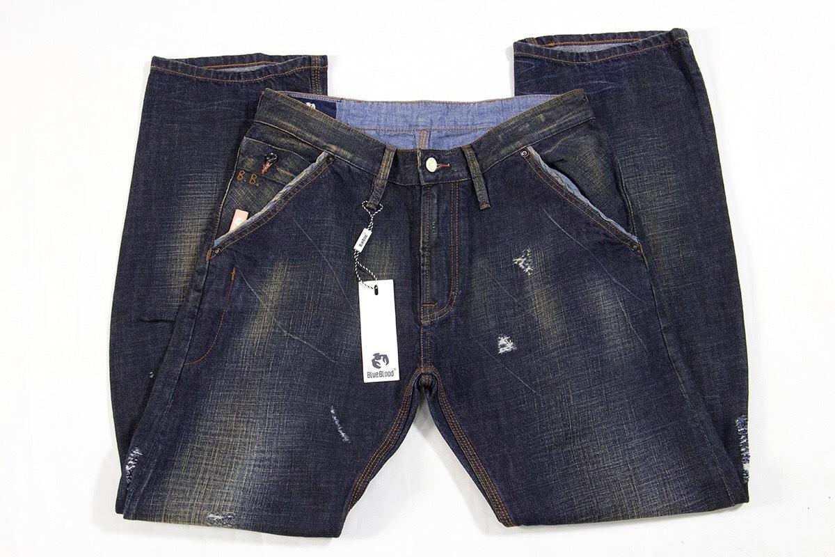 BLUE BLOOD-мужские джинсы