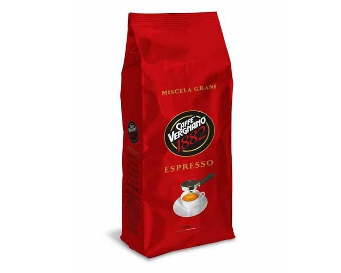 Кофе в зернах Vergnano Espresso, 1 кг