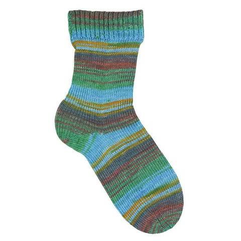 Пряжа Austermann Step 6 Irish Rainbow Colours 623