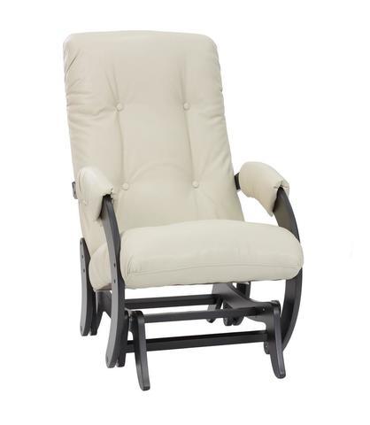 Кресло-глайдер МИ Модель 68, венге, к/з Polaris beige
