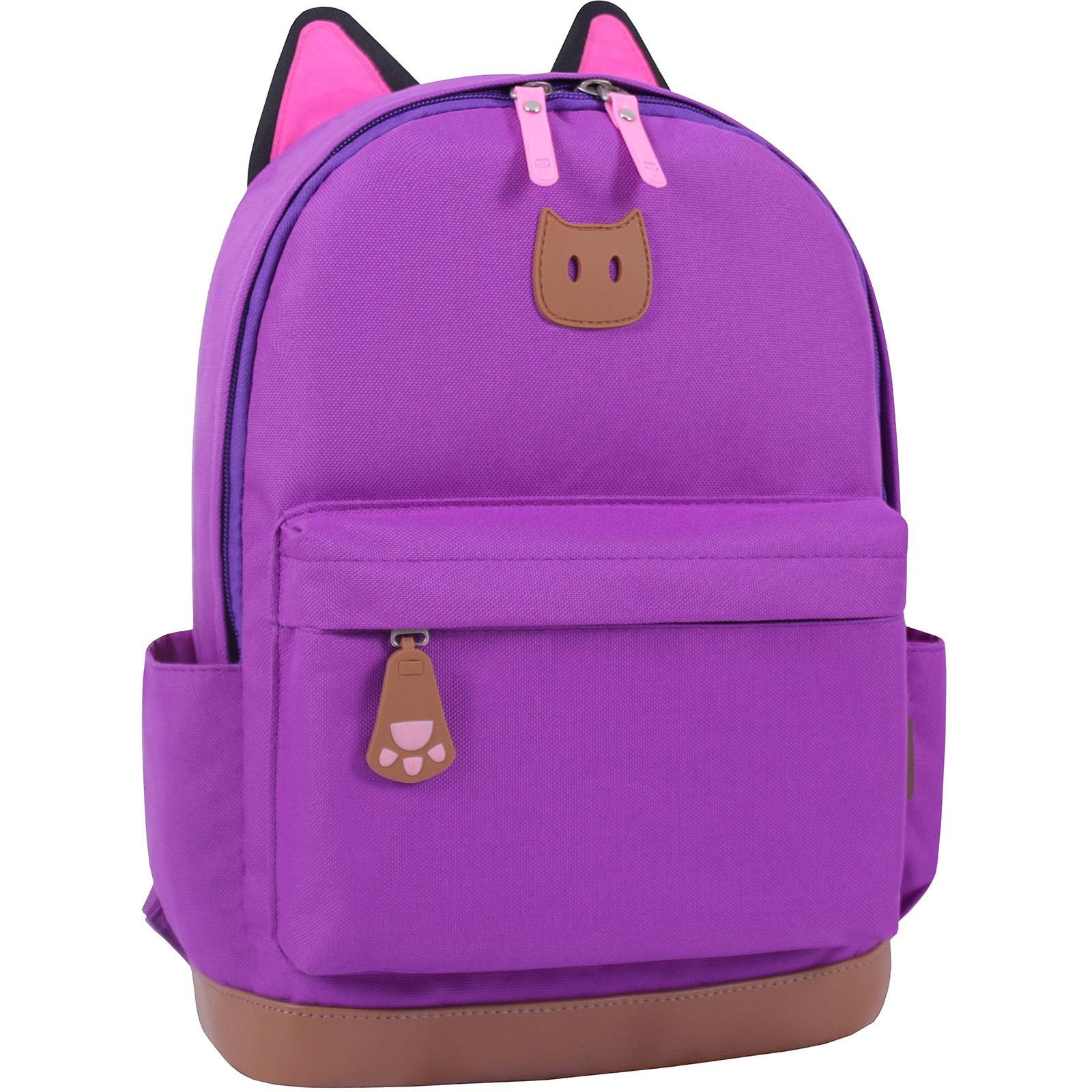 Каталог Рюкзак Bagland Ears фиолетовый (0054566) IMG_0878.JPG