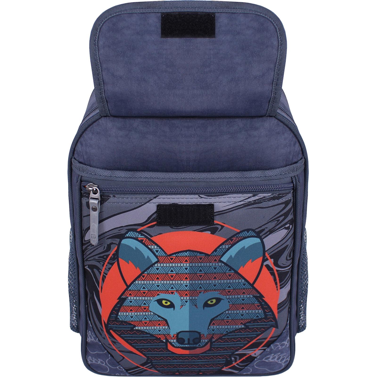 Рюкзак школьный Bagland Отличник 20 л. 321 серый 509 (0058070) фото 4