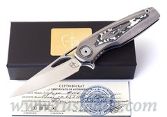 Sirius White storm knife by CultroTech Knives