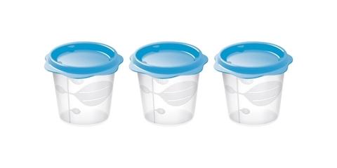 Набор контейнеров Tescoma BAMBINI для продуктов детского питания, 3 шт, 150 мл