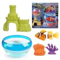 ROBOFISH РобоРыбка с 2 кораллами, замком и  аквариумом (2533)
