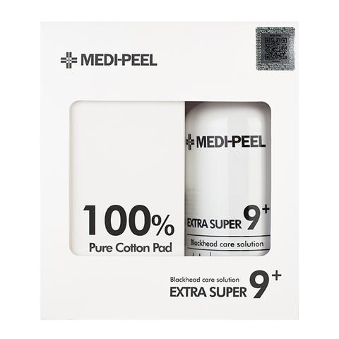 Medi-Peel Extra Super 9 + Cotton Pads очищающее средство для удаления чёрных точек