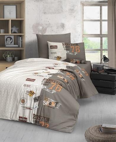 Комплект постельного белья DO&CO RANFORCE 1,5 спальный (Евро) RENZO