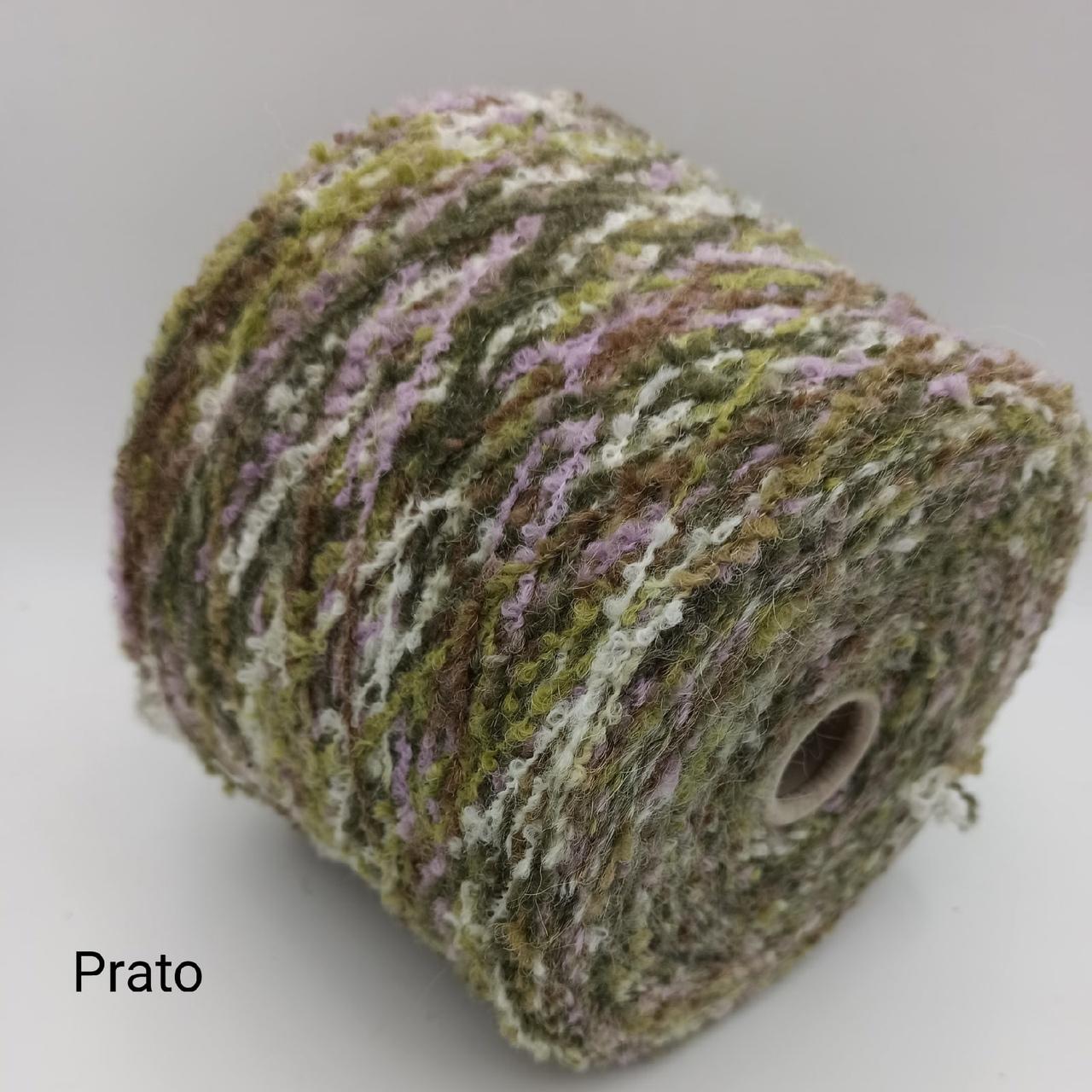 Букле Spuma цвет Prato