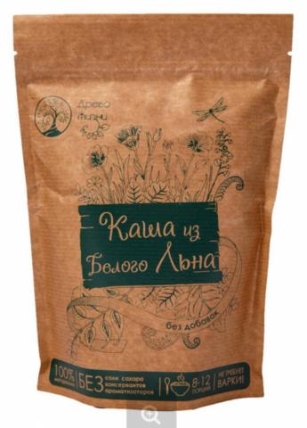 Каша из Белого льна без добавок, 350 гр. (Источник жизни)
