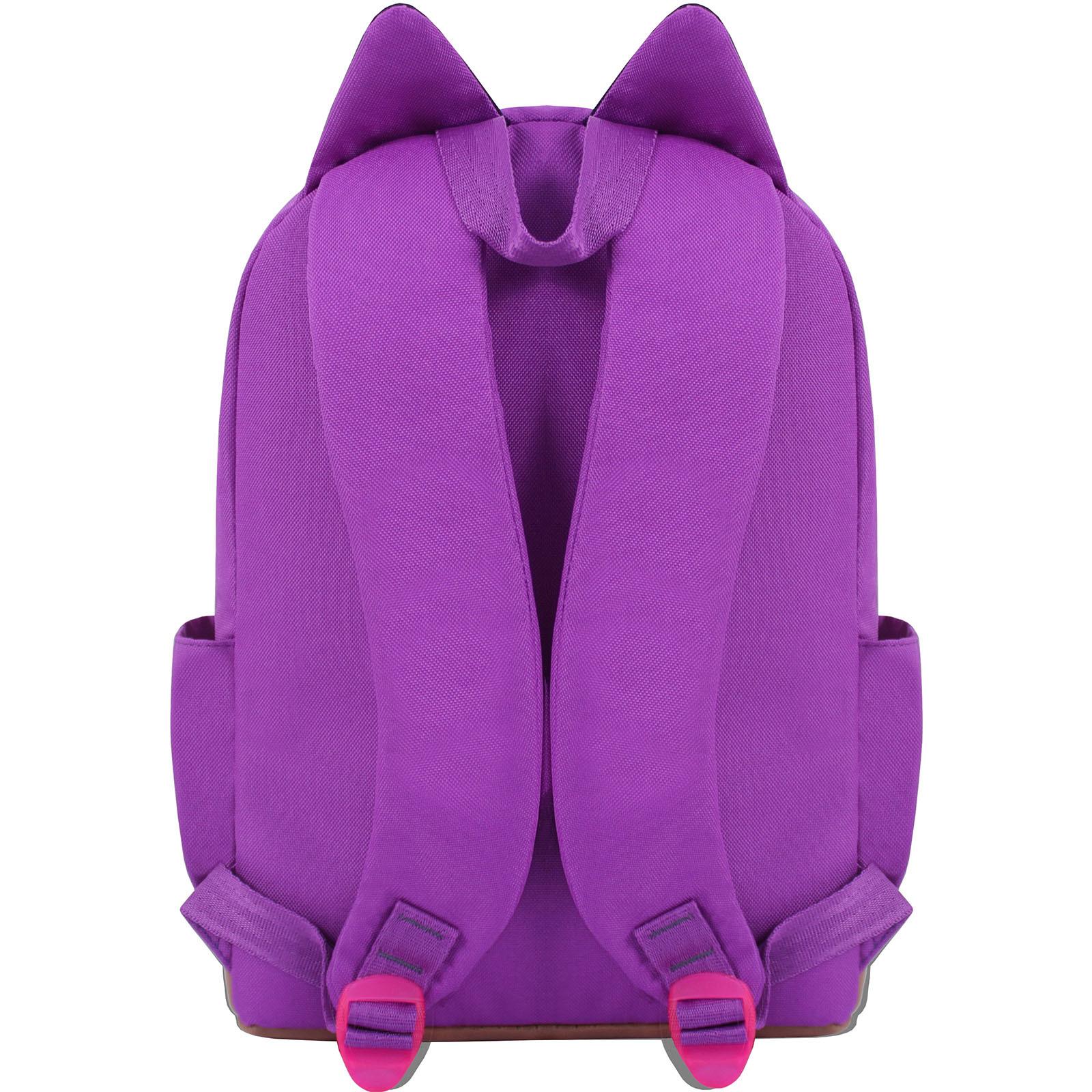 Рюкзак Bagland Ears фиолетовый (0054566) фото 3