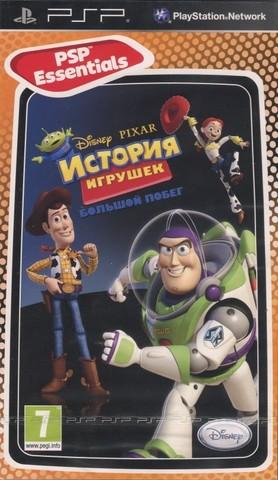 Disney История Игрушек Большой Побег (PSP, русская версия, б/у)