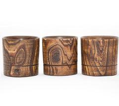 Набор бокалов для виски из дерева «Сибирский вяз», 3 шт, фото 4