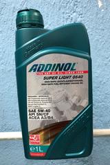ADDINOL SuperLight 5w40 1л