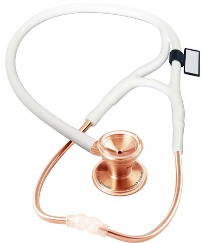 Кардиологический стетоскоп Classic Cardiology Dual Head (розовое золото)