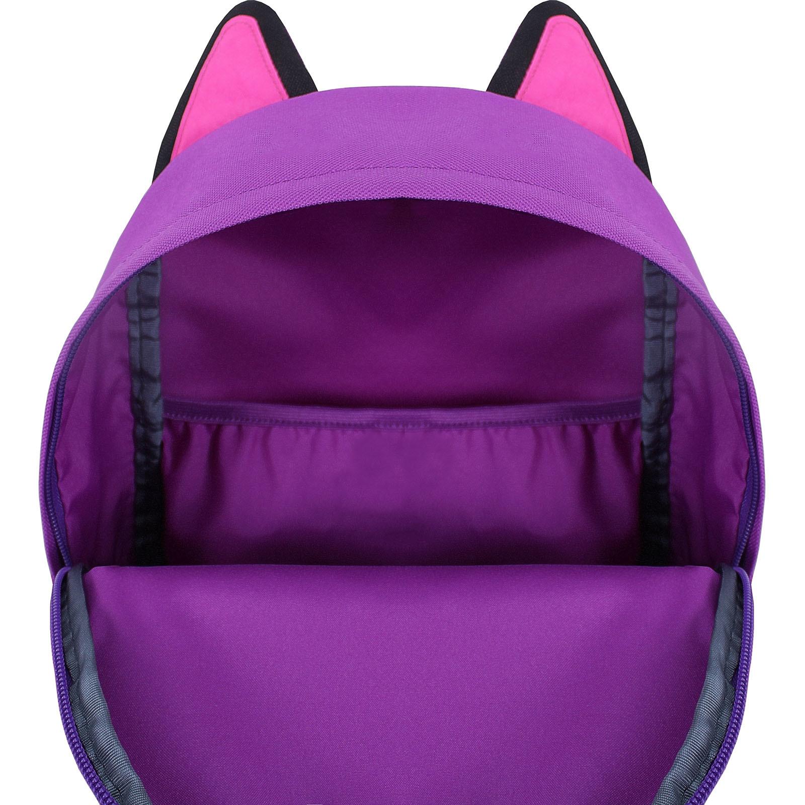 Рюкзак Bagland Ears фиолетовый (0054566) фото 4