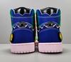 J Balvin X Air Jordan 1 Retro OG High 'Colores Y Vibras'