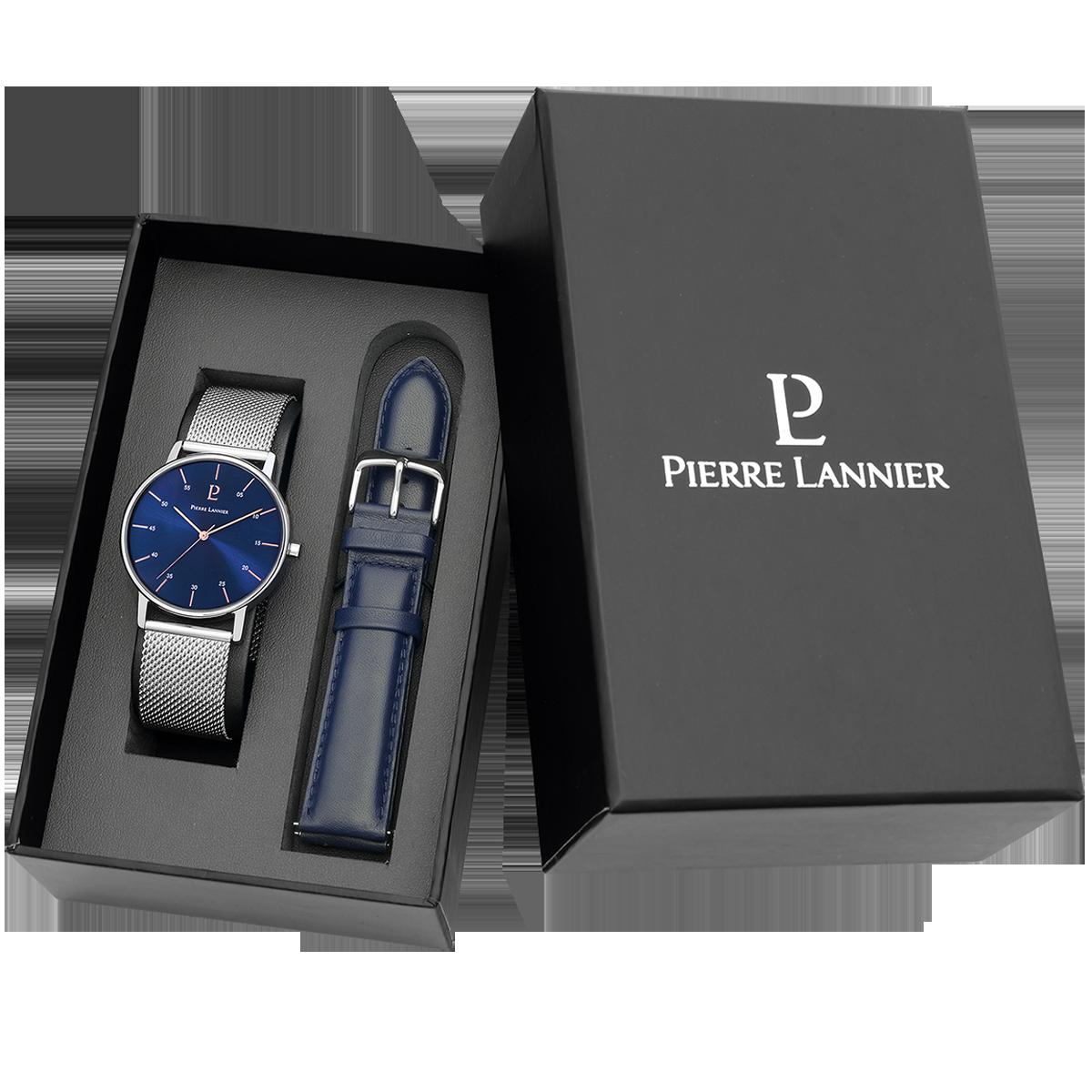 Мужские часы Pierre Lannier Cityline + ремешок 377С168